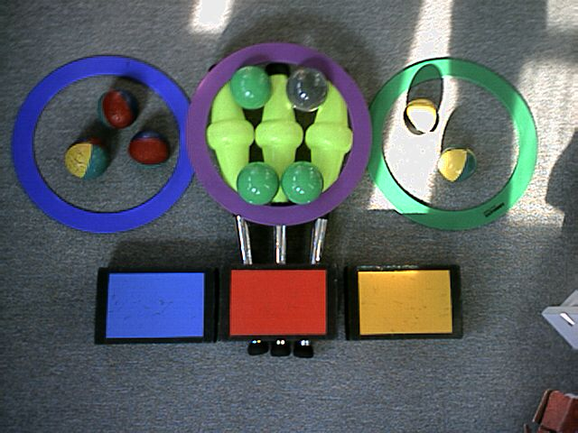 A picture of my juggling props